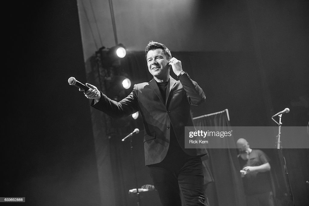 Rick Astley Performs At Emo's : News Photo