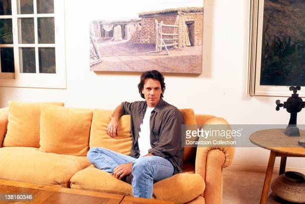 Singersongwriter Rick Springfield poses at his home in circa1990 in Los Angeles California
