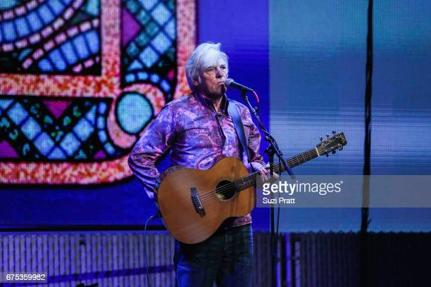Singersongwriter Robyn Hitchcock performs at the GRAMMYPro Songwriter's Summit at Museum of Pop Culture on April 30 2017 in Seattle Washington