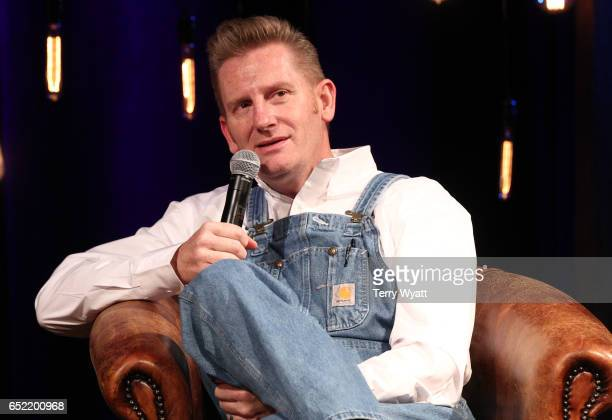 Singer-songwriter Rory Feek discusses his career and new book 'This Life I Live' at Country Music Hall of Fame and Museum on March 11, 2017 in...