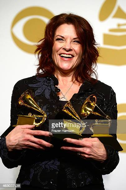 Singersongwriter Rosanne Cash winner of Best American Roots Performance and Best American Roots Song for 'A Feather's Not a Bird' and Best Americana...