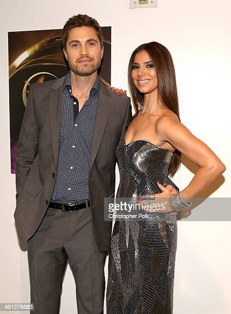 Singer/songwriter Roselyn Sanchez and Eric Winter arrive at the 14th Annual Latin GRAMMY Awards held at the Mandalay Bay Convention Center on...