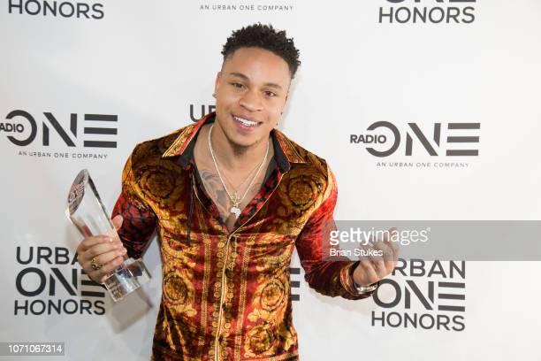 Singer/songwriter Rotimi receives Generation Next Award during 2018 Urban One Honors at The Anthem on December 9 2018 in Washington DC