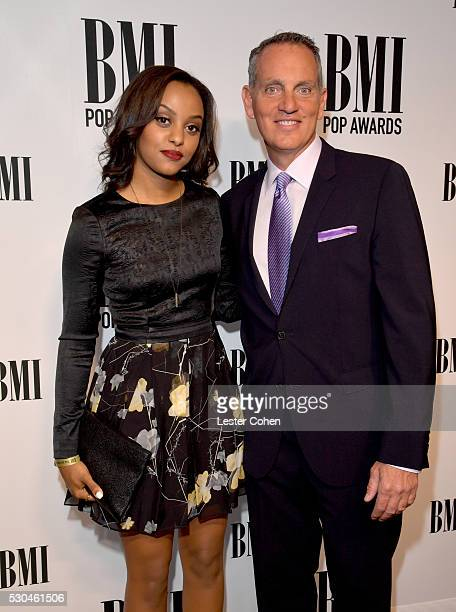 Singersongwriter Ruth B and BMI President CEO Mike O'Neill attend The 64th Annual BMI Pop Awards honoring Taylor Swift and songwriting duo Mann Weil...