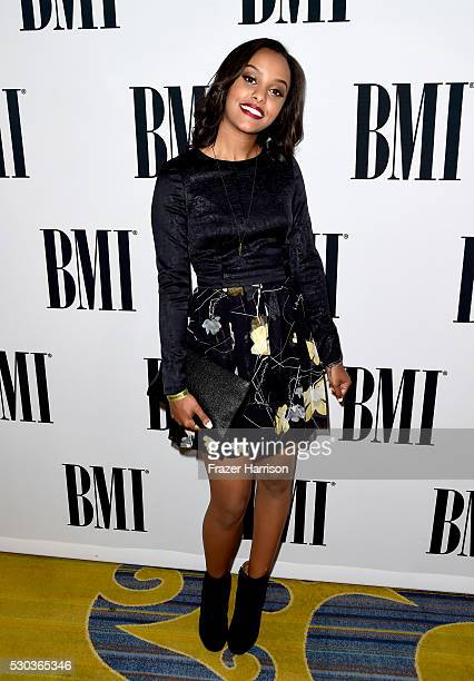 Singer/songwriter Ruth B attends The 64th Annual BMI Pop Awards honoring Taylor Swift and songwriting duo Mann Weil at the Beverly Wilshire Four...