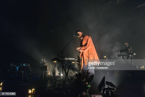 Singersongwriter Ry Cuming aka RY X performs live on stage during a concert at Tempodrom on February 12 2018 in Berlin Germany