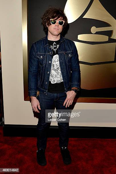 Singersongwriter Ryan Adams attends The 57th Annual GRAMMY Awards at the STAPLES Center on February 8 2015 in Los Angeles California