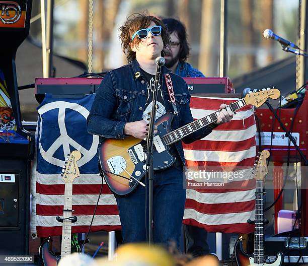 Singersongwriter Ryan Adams performs onstage during day 3 of the 2015 Coachella Valley Music Arts Festival at the Empire Polo Club on April 12 2015...