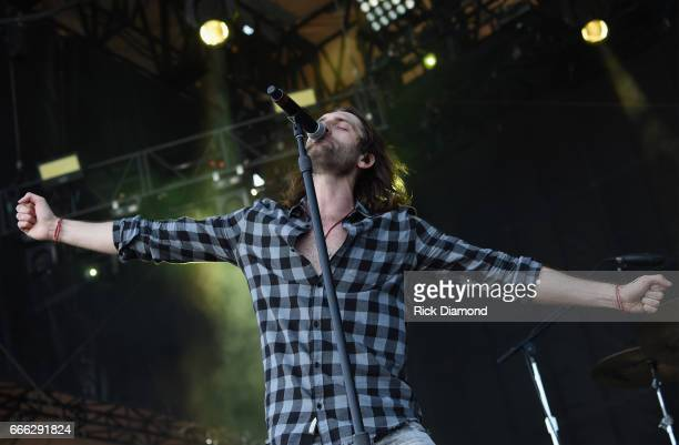 Singer/Songwriter Ryan Hurd performs on Day 3 Country Thunder Music Festival Arizona April 8 2017 in Florence Arizona