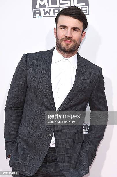 Singersongwriter Sam Hunt attends the 2015 American Music Awards at Microsoft Theater on November 22 2015 in Los Angeles California