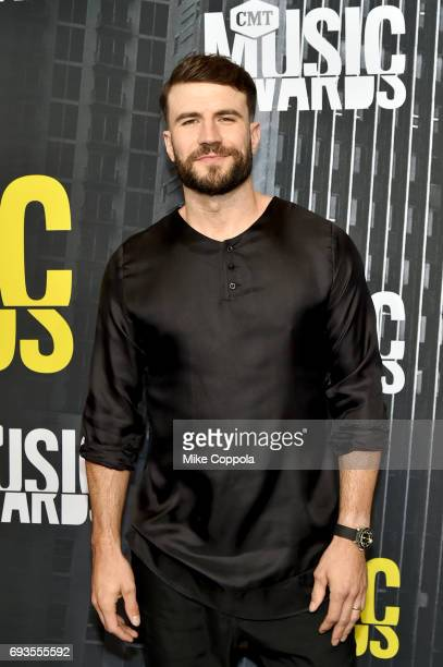 Singersongwriter Sam Hunt attends the 2017 CMT Music Awards at the Music City Center on June 7 2017 in Nashville Tennessee