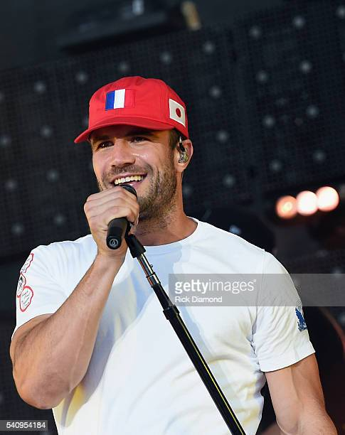 Singer/Songwriter Sam Hunt performs during 2016 Windy City LakeShake Country Music Festival Day 1 at FirstMerit Bank Pavilion at Northerly Island on...