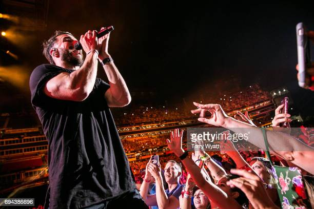 Singersongwriter Sam Hunt performs during day 2 of the 2017 CMA Music Festival on June 9 2017 in Nashville Tennessee