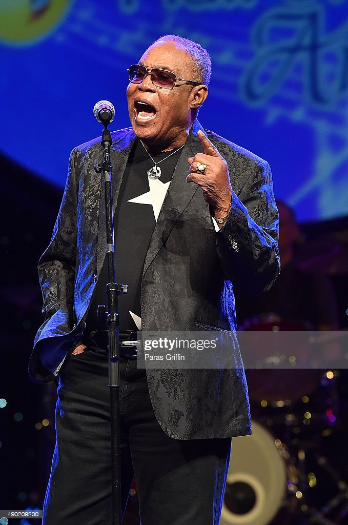 Singer/songwriter Sam Moore performs onstage at Georgia Music Hall Of Fame Awards at Georgia World Congress Center on September 26, 2015 in Atlanta, Georgia.