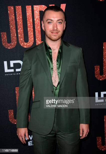 "Singer/songwriter Sam Smith attends the Los Angeles Premiere of ""Judy"" at the Samuel Goldwyn Theater, September 19 in Los Angeles, California."