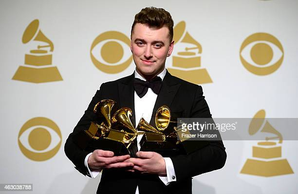 Singersongwriter Sam Smith winner of Record of the Year and Song of the Year for 'Stay with Me' Best Pop Vocal Album for 'In the Lonely Hour' and...