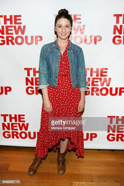Singersongwriter Sara Bareilles attends 'All The Fine Boys' Opening Night on March 1 2017 in New York City