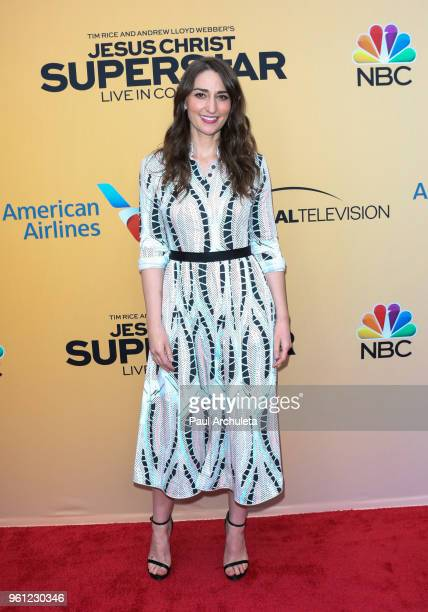 SingerSongwriter Sara Bareilles attends NBC's 'Jesus Christ Superstar Live In Concert' FYC event at the Egyptian Theatre on May 21 2018 in Hollywood...