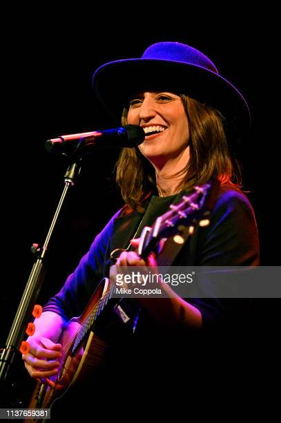 Singer/songwriter Sara Bareilles performs at Bowery Ballroom on March 22 2019 in New York City
