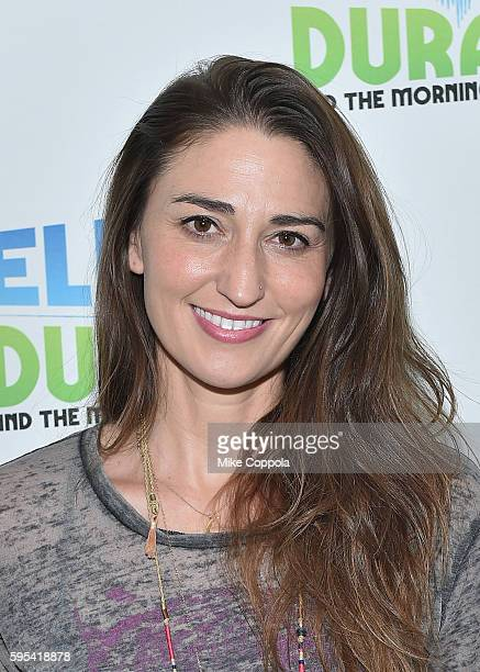 Singer/songwriter Sara Bareilles visits 'The Elvis Duran Z100 Morning Show' at Z100 Studio on August 24 2016 in New York City