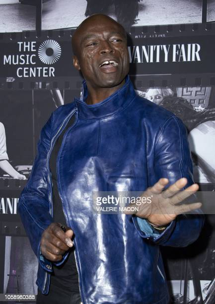 Singer/songwriter Seal attends JONI 75 A Birthday Celebration Live at the Dorothy Chandler Pavilion in Los Angeles on November 7 2018 Two AllStar...