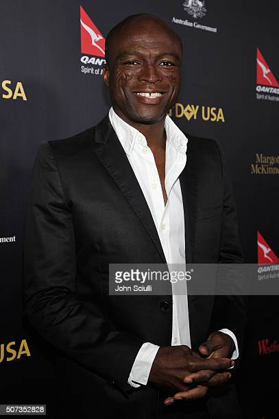 Singersongwriter Seal attends the G'Day USA 2016 Black Tie Gala at Vibiana on January 28 2016 in Los Angeles California