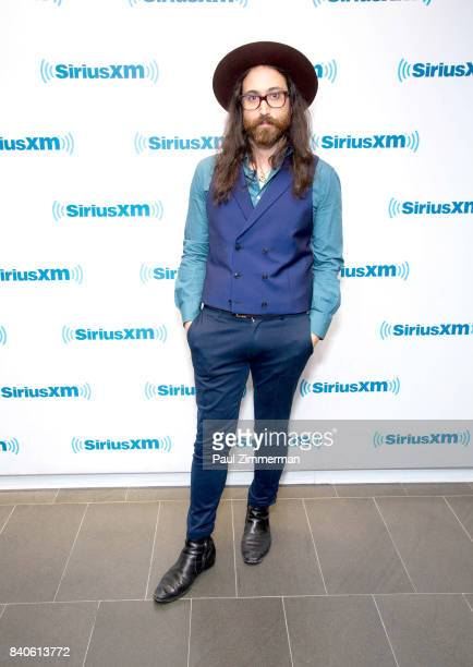 Singer/songwriter Sean Ono Lennon visits the SiriusXM Studios on August 29, 2017 in New York City.