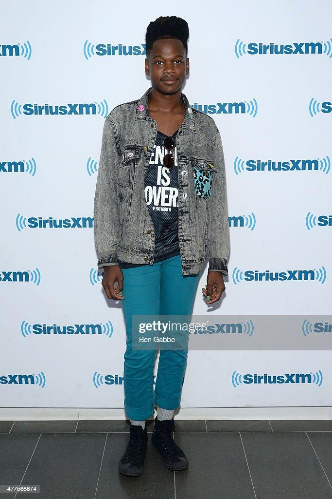 Singer/songwriter Shamir visits at SiriusXM Studios on June 18, 2015 in New York City.