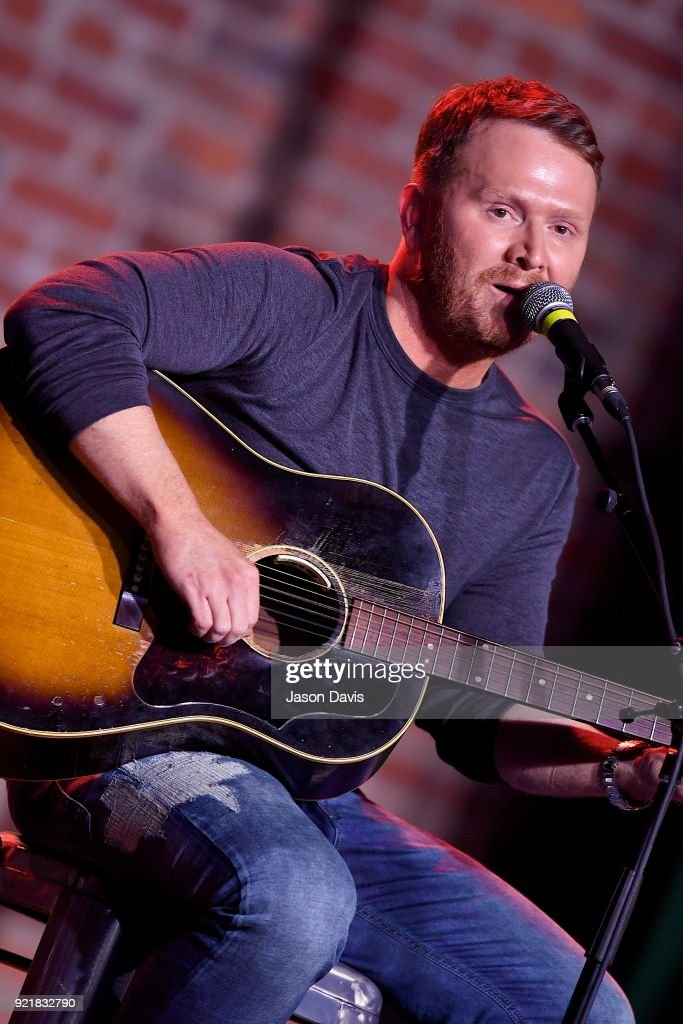 Singer/Songwriter Shane McAnally performs onstage during the CMA Songwriters Series Celebrating CMA's 9th Annual Tripple Play Awards at Marathon Music Works on February 20, 2018 in Nashville, Tennessee.