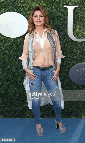 Singer/songwriter Shania Twain attends the 17th Annual USTA Foundation Opening Night Gala at USTA Billie Jean King National Tennis Center on August...