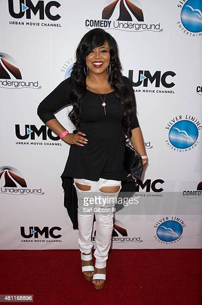 Singer/Songwriter Shanice attends The Comedy Underground Series Vol 3 And 4 at Alex Theatre on July 17 2015 in Glendale California