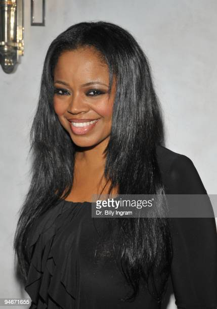 Singer/songwriter Shanice Wilson arrives at Candy Ice Jewelry Presents Sparkles In Their Eyes Holiday Charity Event at Villa Blanca on December 16...
