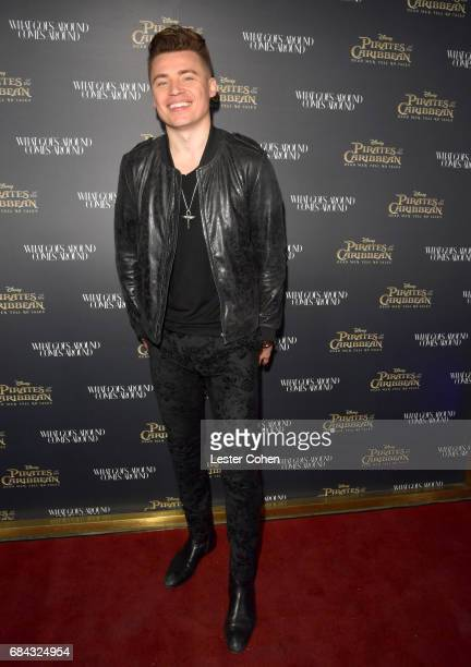 Singersongwriter Shawn Hook attends the Pirates of the Caribbean special event at What Goes Around Comes Around on May 17 2017 in Beverly Hills...
