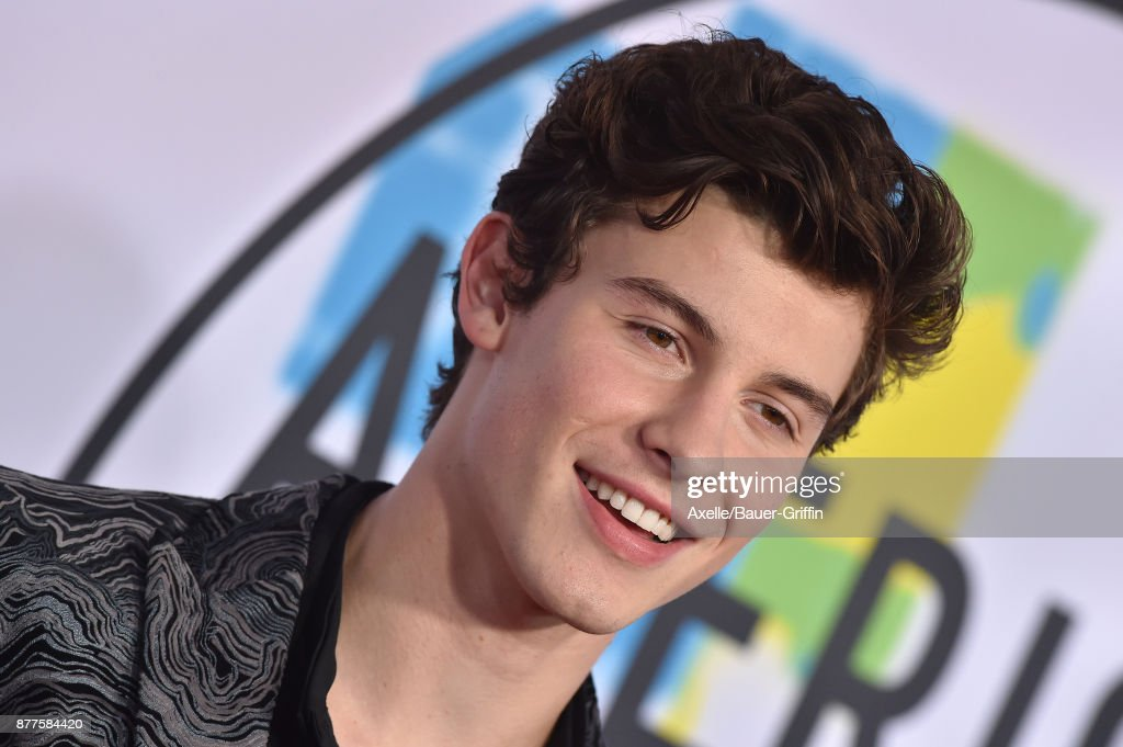 Singer/songwriter Shawn Mendes arrives at the 2017 American Music Awards at Microsoft Theater on November 19, 2017 in Los Angeles, California.