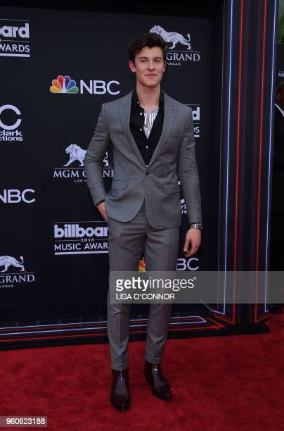 Singer/songwriter Shawn Mendes attends the 2018 Billboard Music Awards 2018 at the MGM Grand Resort International on May 20 2018 in Las Vegas Nevada