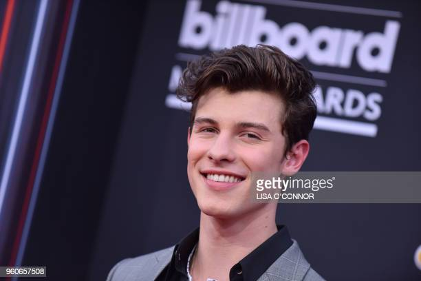 Singer/songwriter Shawn Mendes attends the 2018 Billboard Music Awards 2018 at the MGM Grand Resort International on May 20 in Las Vegas Nevada