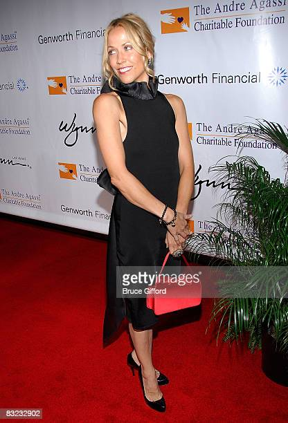 Singer/songwriter Sheryl Crow arrives at the 13th annual Andre Agassi Charitable Foundation's Grand Slam for Children benefit concert at the Wynn Las...