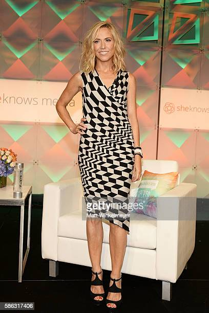 Singersongwriter Sheryl Crow attends the #BlogHer16 Experts Among Us Conference at JW Marriott Los Angeles at LA LIVE on August 5 2016 in Los Angeles...