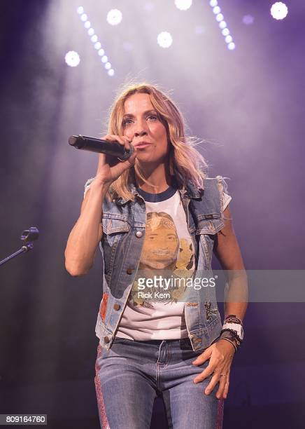 Singersongwriter Sheryl Crow performs onstage during the 44th Annual Willie Nelson 4th of July Picnic at Austin360 Amphitheater on July 4 2017 in...