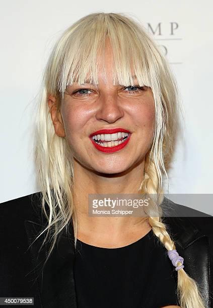 Singersongwriter Sia attends the 2014 Wayuu Taya Gala Honoring Kimora Lee Simmons at Trump SoHo on June 4 2014 in New York City