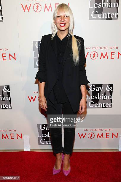 Singer/songwriter Sia attends The L.A. Gay & Lesbian Center's 2014 An Evening With Women at The Beverly Hilton Hotel on May 10, 2014 in Beverly...