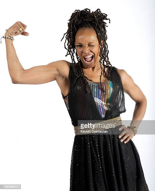Singer/songwriter Siedah Garrett poses for a portrait during the 84th Academy Awards Nominations Luncheon at The Beverly Hilton hotel on February 6...
