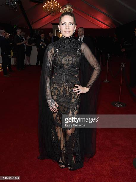 Singersongwriter Skylar Grey attends The 58th GRAMMY Awards at Staples Center on February 15 2016 in Los Angeles California