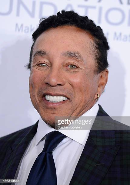 Singer-songwriter Smokey Robinson attends the 29th Annual Great Sports Legends Dinner to benefit The Buoniconti Fund to Cure Paralysis at The Waldorf...