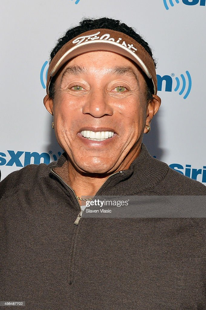 Singer/songwriter Smokey Robinson visits SiriusXM Studios on October 1, 2014 in New York City.