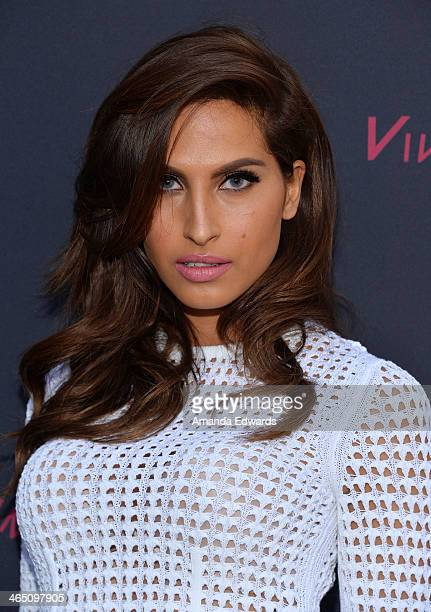 Singer/songwriter Snoh Aalegra arrives at the Roc Nation PreGRAMMY Brunch presented by MAC Viva Glam on January 25 2014 in Los Angeles California