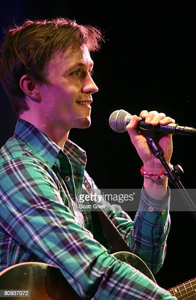 Singer/songwriter Sondre Lerche performs during the Tribeca ASCAP Music Lounge during the 2008 Tribeca Film Festival on April 30 2008 in New York City