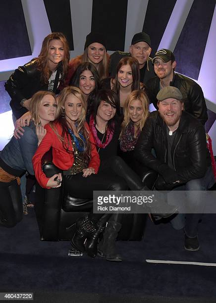Singer/Songwriter Sonia Leigh Friends Front Row LR Hailey Steele Brooke Eden Sonia Leigh Risa Binder Brian Collins Middle Row LR Lisa Goe Tayler...
