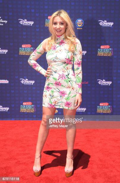 Singer-songwriter Sophie Beem attends the 2017 Radio Disney Music Awards at Microsoft Theater on April 29, 2017 in Los Angeles, California.