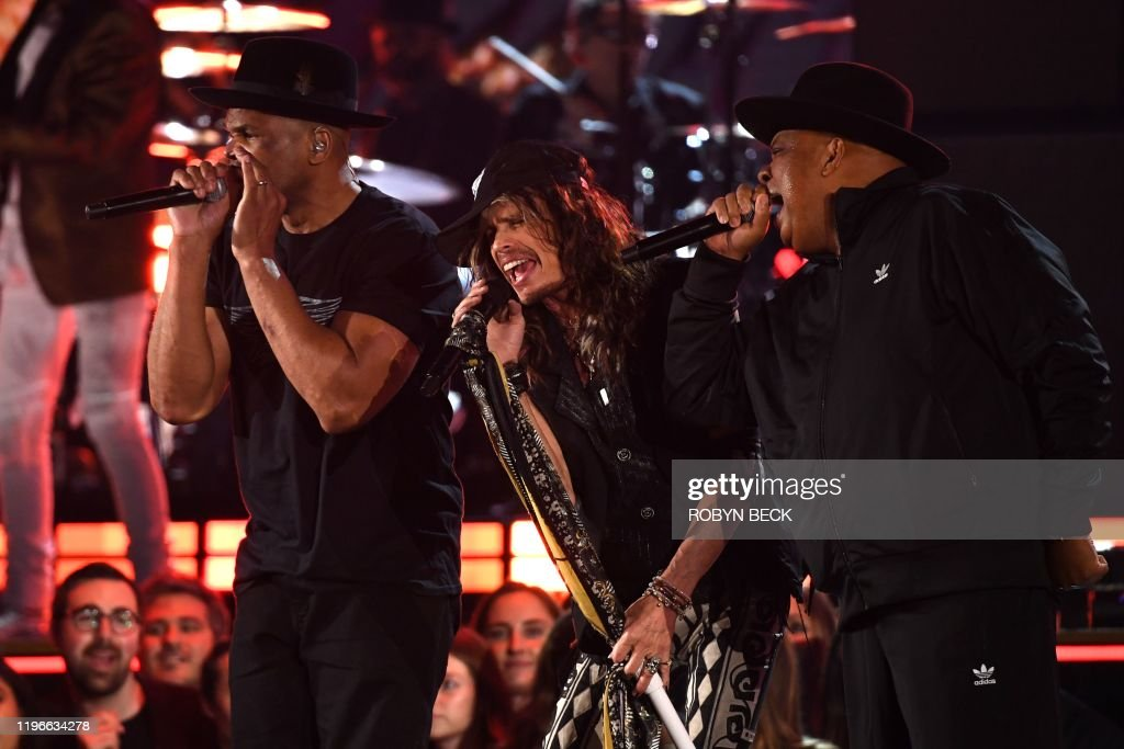 US-ENTERTAINMENT-MUSIC-GRAMMY-SHOW : News Photo
